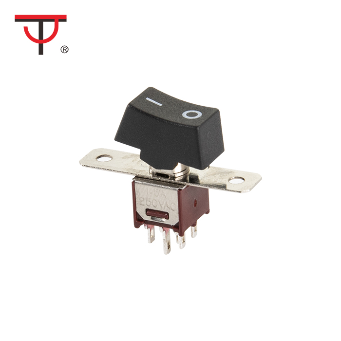 Sub-Miniature Rocker And Lever Handle Switch SRLS-202-A1 Featured Image