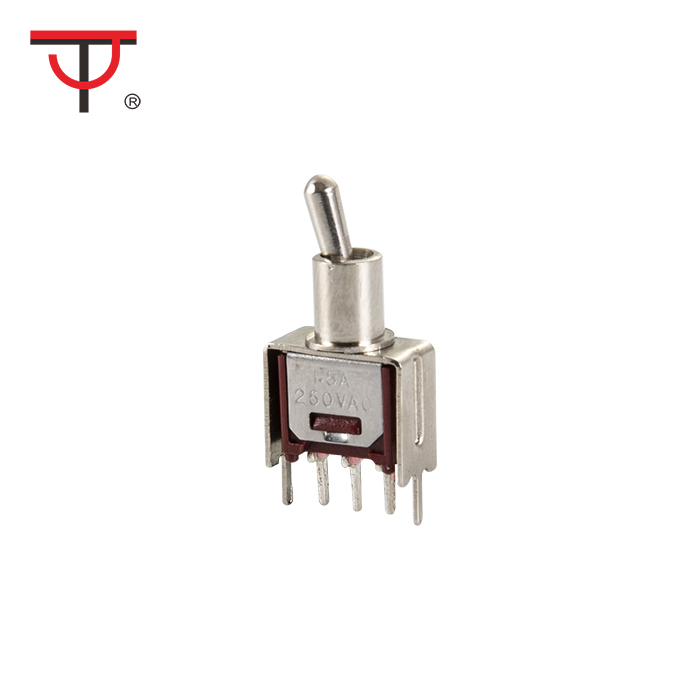 Sub-Miniature Toggle Switch SMTS-102-2C2T Featured Image