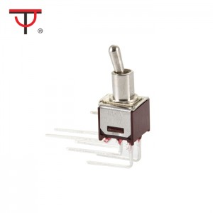 Sub-Miniature Toggle Switch SMTS-202-2C4