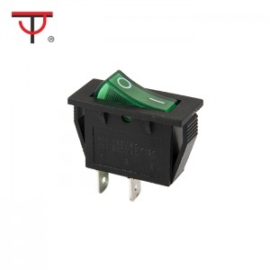 ʻO kahi Aliʻi-Pole Rocker Switch RS-101-2C