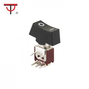 Sub-Miniature Rocker And Lever Handle Switch SRLS-202-C3H