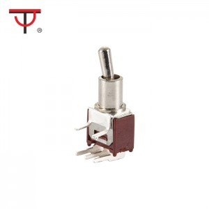 Sub-Miniature Toggle Switch SMTS-102-2C3