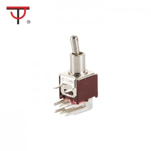 Sub-Miniature Toggle Switch SMTS-202-2C3