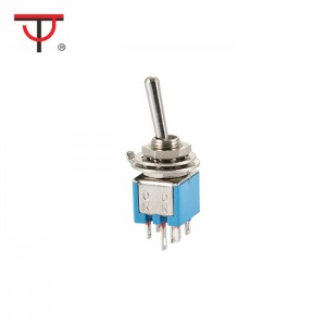 Sub-Miniature Toggle Switch SMTS-202