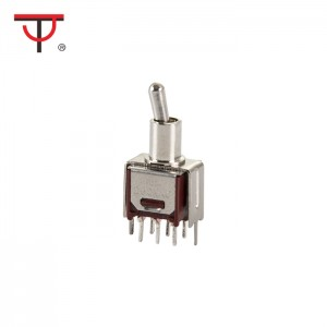 Sub-Miniature Toggle Switch SMTS-202-2C2T