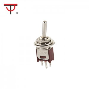 Sub-Miniature Toggle Switch STMS-102-2A1