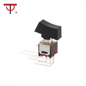 Sub-Miniature Rocker And Lever Handle Switch SRLS-202-C4H