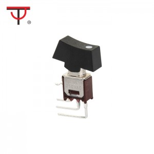 Sub-Miniature Rocker And Lever Handle Switch SRLS-102-C4B