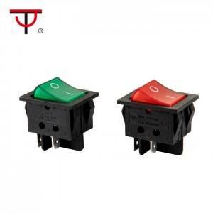 Double-poles Rocker Switch IRS-201-3C