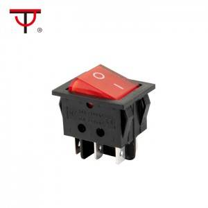 Double-poles Rocker Switch  IRS-202-3A