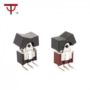 Miniature Rocker and Lever Handle Switch  RLS-102-A3T