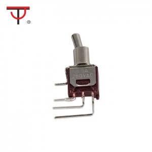 Sub-Miniature Toggle Switch SMTS-102-2C4B