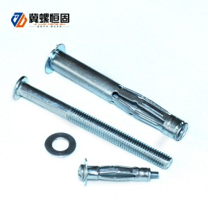CE Certificate Sleeve Anchor With Hex Flange Nut Expansion Anchor Bolts