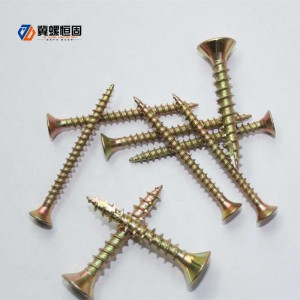 2017 Latest Design Stud Wedge Anchor - Super Lowest Price Chrome Plated Flat Head Cap Cover Decorative Mirror Screws – Ji Luo Fastener