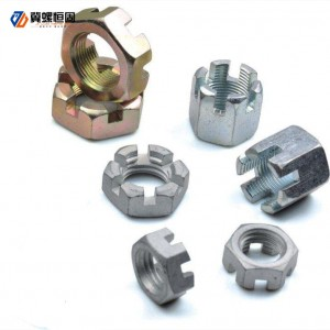 Factory Price Wedge Anchor - slotted nut – Ji Luo Fastener