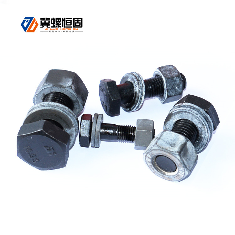 Factory Promotional Standard Size Bolt And Nut - Steel structure large hex bolt – Ji Luo Fastener