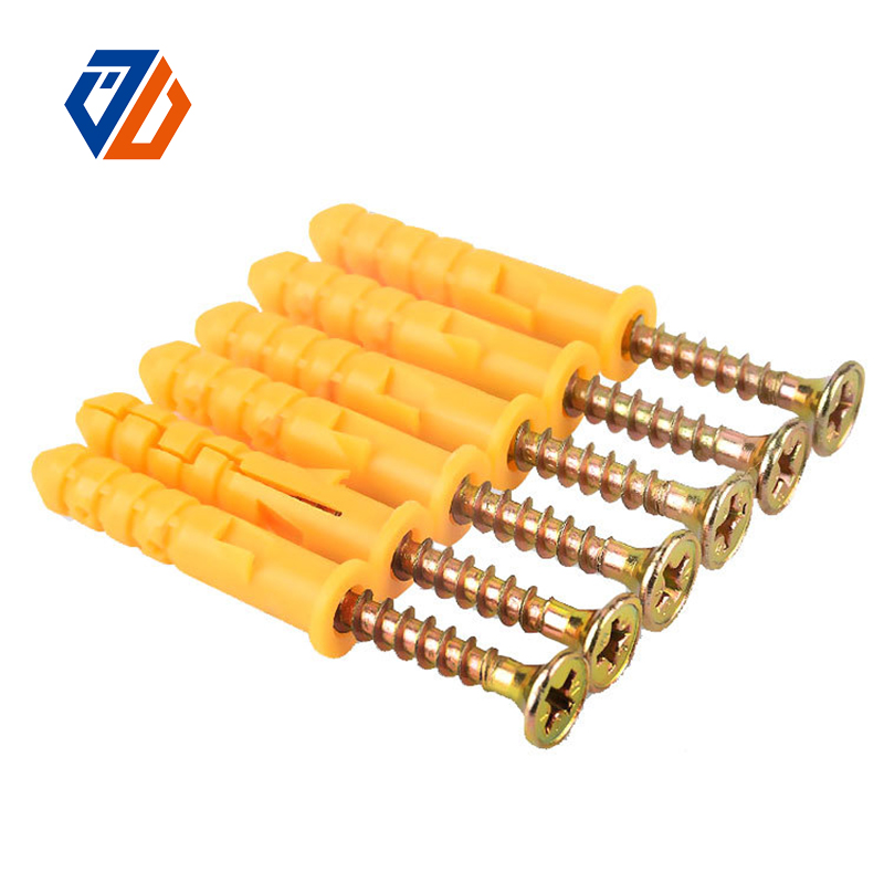 China New Product Plating L Shaped Foundation Anchor Bolt - Plastic Expansion – Ji Luo Fastener