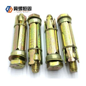 4 pcs fix bolt