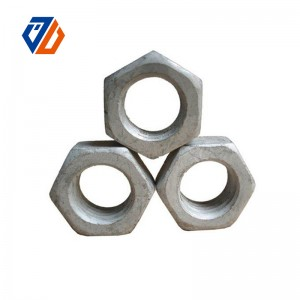 Professional China Galvanized Acorn Nuts - Hexagon Nut – Ji Luo Fastener