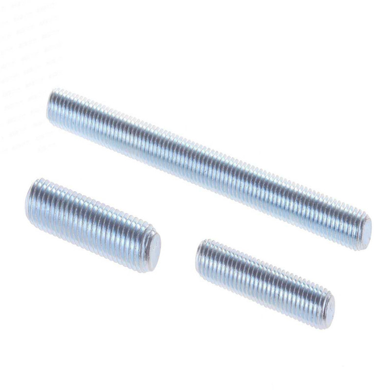 Wholesale Chemical Anchor Stud - 4.8 Grade zinc m10 m12 m24 threaded rod – Ji Luo Fastener