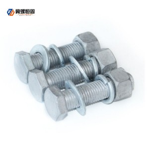 Hot-dip Galvanized Hexagon Bolt