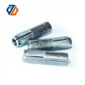 Factory directly supply Metric Cap Nuts - factory low price Drop In Anchor Handan In Zinc Plated Steel Anchor Bolt – Ji Luo Fastener