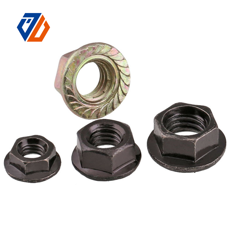 China Manufacturer for M2 Threaded Rod - Flange Nut – Ji Luo Fastener