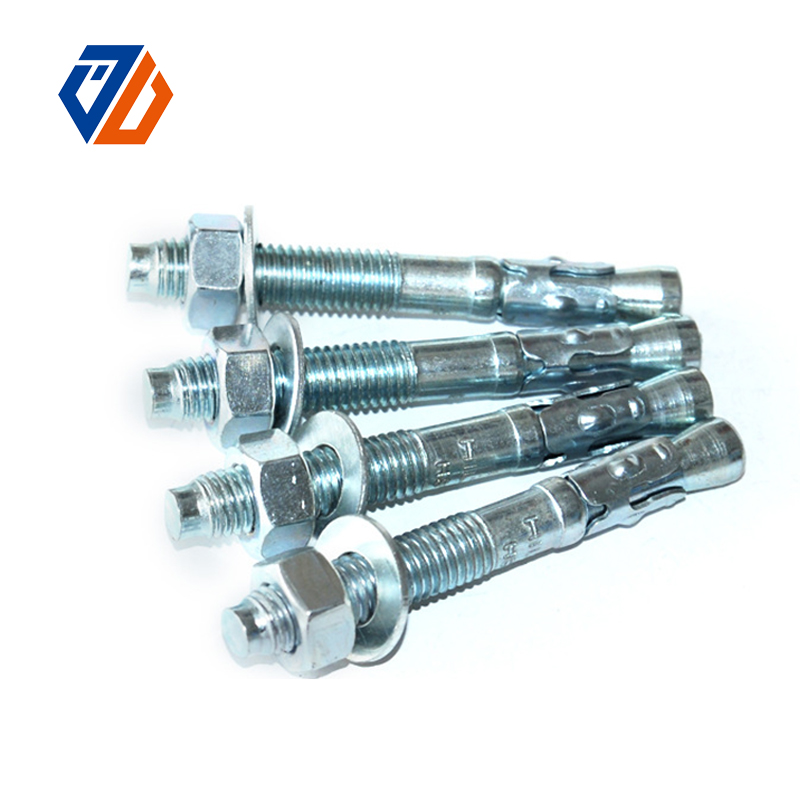High Performance A36 Threaded Rod - China Wholesale Galvanized Carbon Steel Wedge Anchors Bolts – Ji Luo Fastener