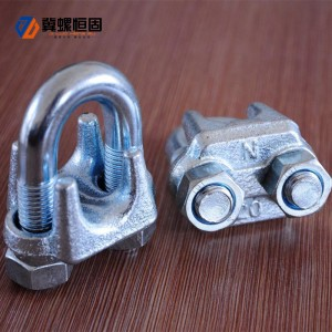 China Gold Supplier for 10mm Drop In Anchors - Wire Rope Clips – Ji Luo Fastener