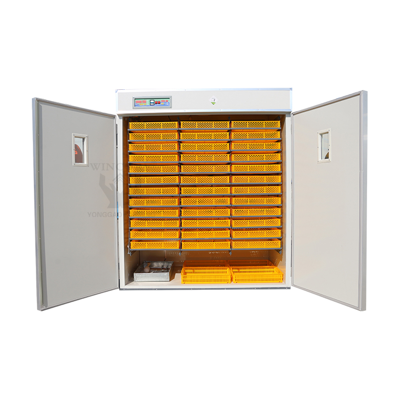 Poultry Farm Professional  Insulation Intelligent Hatch Controller 8448  Capacity Eggs Hatching Large Egg Incubator For Sale