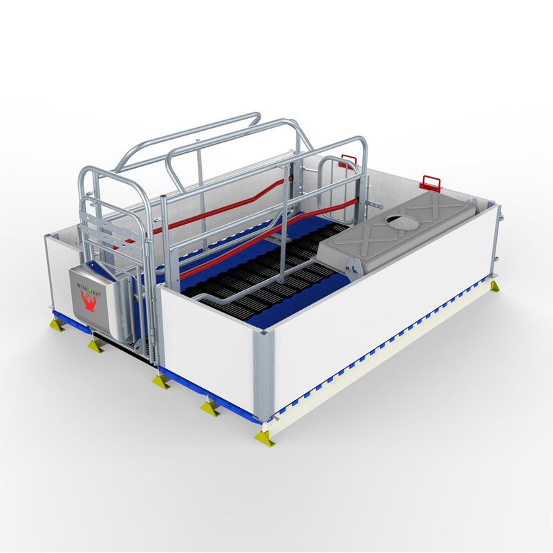 High Strength PVC Board 2.4*1.8m Pig Farrowing Crate For Sale In Philippines