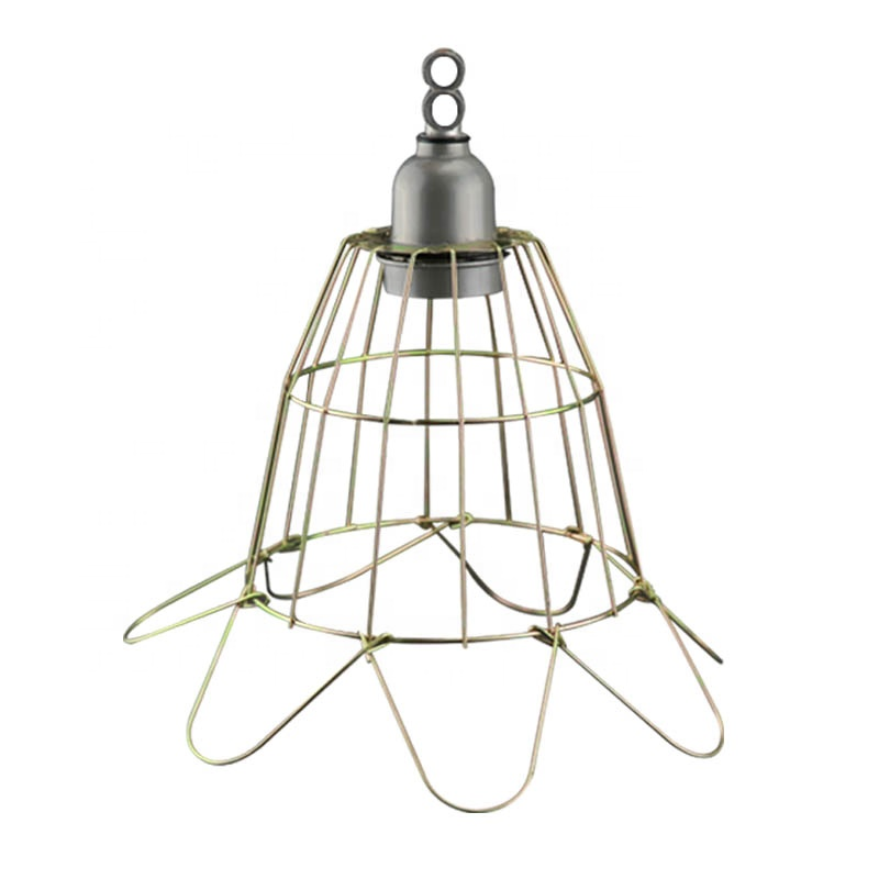 wire metal  lampshade frame for heat preservation lamps use for farms