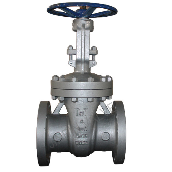 ANSI 150LB carbon steel WCB rising stem gate valve