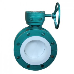 Full Fluorine-lined butterfly valve