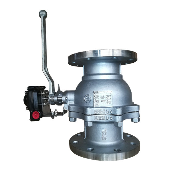 Popular Design for Actuator Mounted Ball Valve -