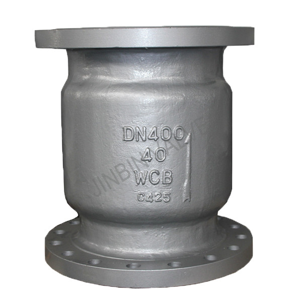 Carbon steel spring loaded vertical type flange check valve