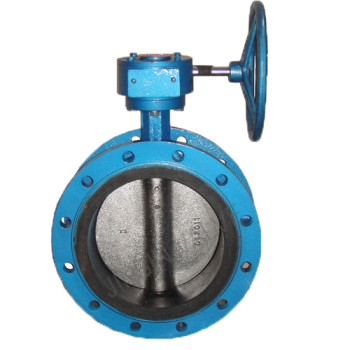Manual resilient seat flanged butterfly valve Featured Image