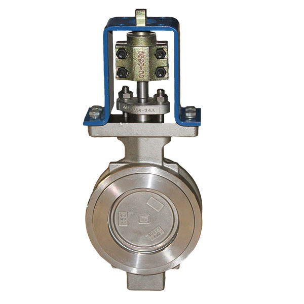 stainless steel high performance wafer butterfly valve