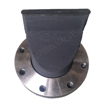 Built in flange Duckbill valve