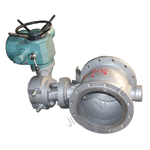 Electric eccentric flange ball valve Featured Image