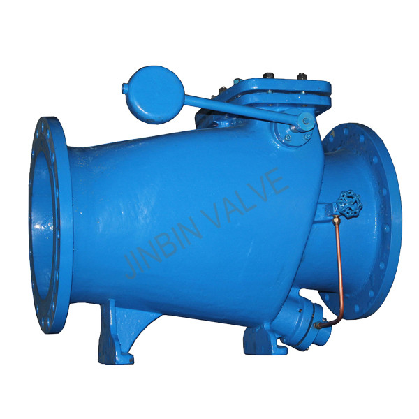 microresistance slow closing flange check Valve with counterweight