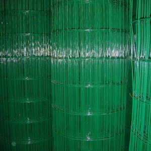 PVC COATED WEDLED WIRE MESH