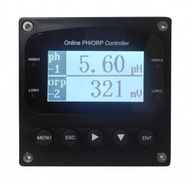 Online double channel PH, ORP, PH/ORP controller (PC-6850)