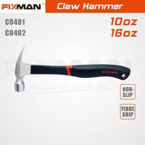FIXMAN claw hammer made in China claw hammer head with competitive price