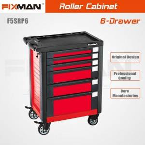 FIXMAN F5SRP6 6-Drawer Upgraded High Level Roller Cabinet for Auto Store