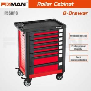 Fixman F5SRP8 8 Drawer High Quality Roller Cabinet