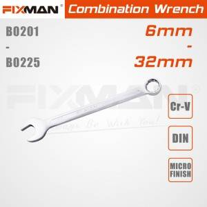 6mm 32mm combination wrench set FIXMAN