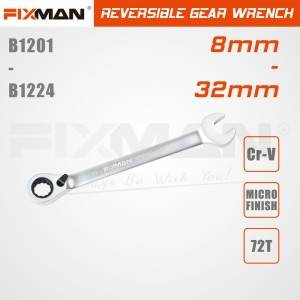 wholesale reversible gear wrench made in zhejiang factory