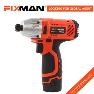 China Factory Woodworking Ruoko 12V Cordless Simba Impact Screwdriver