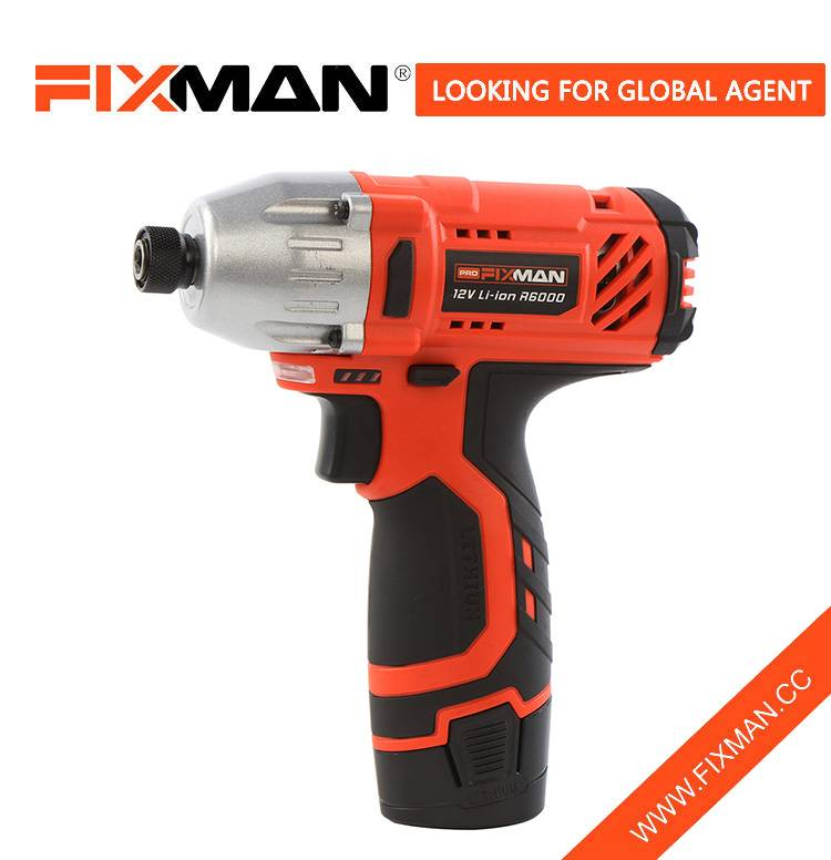 China Factory Woodworking Hand 12V Cordless Power Impact Screwdriver Featured Image